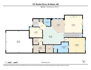 Photo 30: 137 Rankin Drive: St. Albert House Half Duplex for sale : MLS®# E4214207