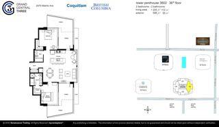 "Photo 28: 3602 2975 ATLANTIC Avenue in Coquitlam: North Coquitlam Condo for sale in ""GRAND CENTRAL 3"" : MLS®# R2525604"