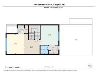Photo 39: 39 Cedardale Road SW in Calgary: Cedarbrae Semi Detached for sale : MLS®# A1057502