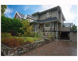 Photo 1: 6560 ANGUS Drive in Vancouver: South Granville House for sale (Vancouver West)  : MLS®# V670423