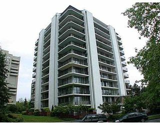"""Photo 1: 1006 4165 MAYWOOD Street in Burnaby: Metrotown Condo for sale in """"PLACE ON THE PARK"""" (Burnaby South)  : MLS®# V687534"""