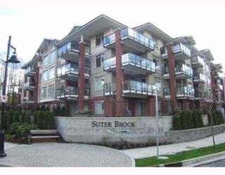 "Photo 1: 402 100 CAPILANO Road in Port_Moody: Port Moody Centre Condo for sale in ""SUTERBROOK"" (Port Moody)  : MLS®# V696052"