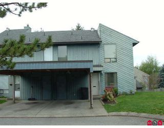 "Photo 1: 240 32550 MACLURE Road in Abbotsford: Abbotsford West Townhouse for sale in ""Clearbrook Village"" : MLS®# F2813325"