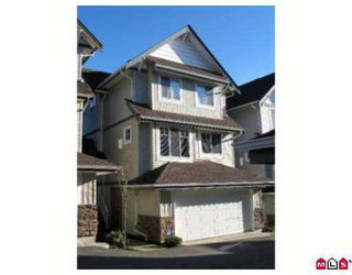 """Photo 1: 20582 67TH Ave in Langley: Willoughby Heights Townhouse for sale in """"Bakerview"""" : MLS®# F2702990"""