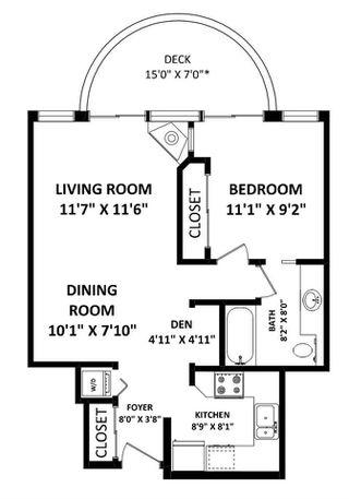 "Photo 7: 1402 13383 108 Avenue in Surrey: Whalley Condo for sale in ""Cornerstone"" (North Surrey)  : MLS®# R2405262"