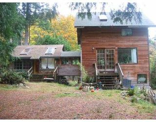 "Photo 1: 1251 MILLER Road: Bowen Island House for sale in ""MILLERS"" : MLS®# V618987"