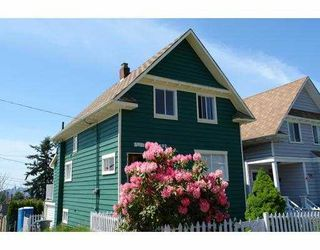 Photo 1: 1923 LAKEWOOD Drive in Vancouver: Grandview VE House for sale (Vancouver East)  : MLS®# V648663