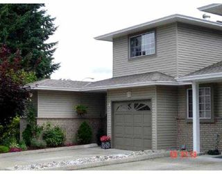 """Photo 1: 1 19270 119TH AV in Pitt Meadows: Central Meadows Townhouse for sale in """"MCMYN ESTATES"""" : MLS®# V601787"""