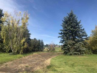 Photo 1: 140 FERNWOOD Crescent: Rural Sturgeon County Rural Land/Vacant Lot for sale : MLS®# E4173564