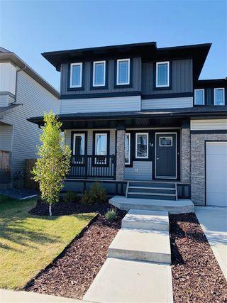 Photo 2: 18 HICKORY Road: Fort Saskatchewan House Half Duplex for sale : MLS®# E4176952