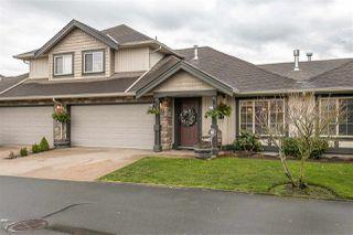 "Photo 1: 42 6449 BLACKWOOD Lane in Chilliwack: Sardis West Vedder Rd Townhouse for sale in ""CEDAR PARK"" (Sardis)  : MLS®# R2524140"