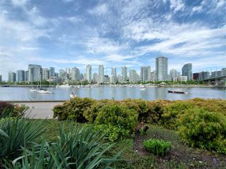 """Photo 2: 113 1859 SPYGLASS Place in Vancouver: False Creek Condo for sale in """"San Remo Court"""" (Vancouver West)  : MLS®# R2455920"""