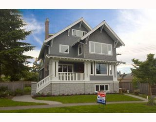 Photo 2: 4171 CARNARVON ST in Vancouver: House for sale : MLS®# V786701