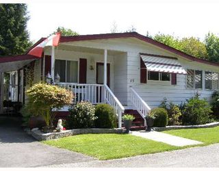 "Main Photo: 49 4496 HIGHWAY 1O1 BB in Sechelt: Sechelt District Manufactured Home for sale in ""BIG MAPLE MOBILE HOME PARK"" (Sunshine Coast)  : MLS®# V648460"