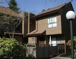 """Photo 1: 9110 CENTAURUS CR in Burnaby: Simon Fraser Hills Townhouse for sale in """"CHALET COURT"""" (Burnaby North)  : MLS®# V598726"""
