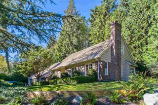 Main Photo: 4619 CAULFEILD Drive in West Vancouver: Caulfeild House for sale : MLS®# R2504032