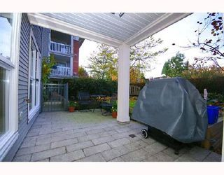 "Photo 8: 102 1858 W 5TH Avenue in Vancouver: Kitsilano Condo for sale in ""THE GREENWICH"" (Vancouver West)  : MLS®# V675574"