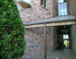 """Photo 1: 101 2410 CORNWALL AV in Vancouver: Kitsilano Condo for sale in """"SPINAKER"""" (Vancouver West)  : MLS®# V611226"""
