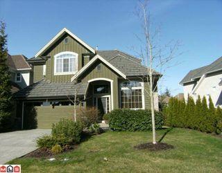 "Photo 1: 3559 ROSEMARY HEIGHTS in Surrey: Morgan Creek House for sale in ""Rosemary Heights"" (South Surrey White Rock)  : MLS®# F1004816"