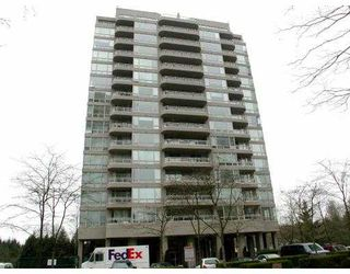"Photo 1: 706 9623 MANCHESTER Drive in Burnaby: Cariboo Condo for sale in ""STRATHMORE TOWER"" (Burnaby North)  : MLS®# V752050"