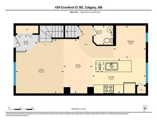 Photo 21: 430 CRANFORD Court SE in Calgary: Cranston Row/Townhouse for sale : MLS®# A1015582