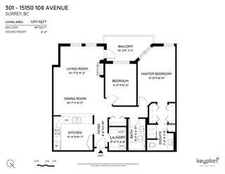 """Photo 2: 301 15150 108 Avenue in Surrey: Guildford Condo for sale in """"Riverpointe"""" (North Surrey)  : MLS®# R2497627"""