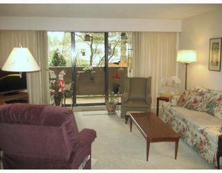 """Photo 3: 111 1385 DRAYCOTT Road in North Vancouver: Lynn Valley Condo for sale in """"BROOKWOOD NORTH"""" : MLS®# V813197"""