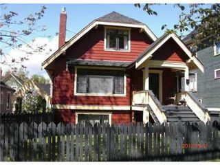 Photo 1: 89 W 11TH Avenue in Vancouver: Mount Pleasant VW House for sale (Vancouver West)  : MLS®# V847773