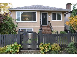 Photo 1: 5112 PRINCE EDWARD Street in Vancouver: Fraser VE House for sale (Vancouver East)  : MLS®# V857046