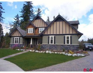 "Photo 1: 9382 165TH Street in Surrey: Fleetwood Tynehead House for sale in ""BOTHWELL PARK"" : MLS®# F2908452"