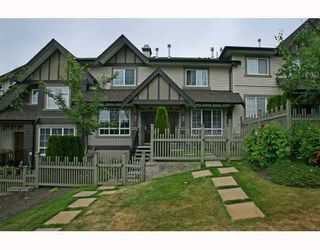 Photo 1: 95 2200 PANORAMA Drive in Port_Moody: Heritage Woods PM Townhouse for sale (Port Moody)  : MLS®# V772360