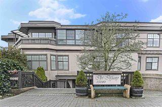"""Photo 1: 203 15080 PROSPECT Avenue: White Rock Condo for sale in """"The Tiffany"""" (South Surrey White Rock)  : MLS®# R2434802"""