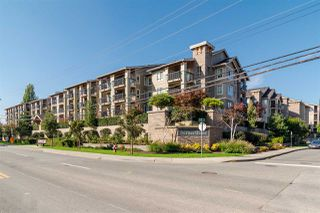 """Photo 1: 404 21009 56 Avenue in Langley: Salmon River Condo for sale in """"Cornerstone"""" : MLS®# R2519052"""