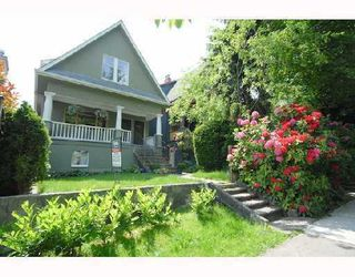 Photo 1: 1354 E 15TH Avenue in Vancouver: Grandview VE House for sale (Vancouver East)  : MLS®# V725842