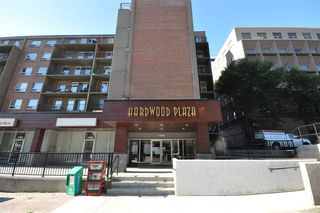 Main Photo: 608 11025 JASPER Avenue in Edmonton: Zone 12 Condo for sale : MLS®# E4189379