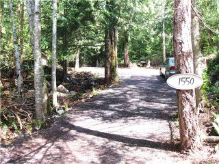 Photo 1: 1550 ADAMS Road: Bowen Island Land for sale : MLS®# V806312