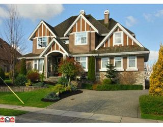 Photo 1: 15991 HUMBERSIDE Avenue in Surrey: Morgan Creek House for sale (South Surrey White Rock)  : MLS®# F1004607