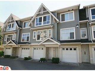 "Photo 1: 28 6450 199TH Street in Langley: Willoughby Heights Townhouse for sale in ""LOGANS LANDING"" : MLS®# F1019917"