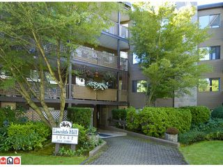 "Photo 1: 404 10662 151A Street in Surrey: Guildford Condo for sale in ""LINCOLN HILL"" (North Surrey)  : MLS®# F1023055"
