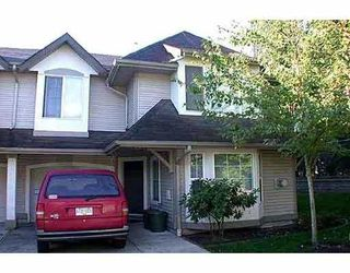 """Photo 1: 29 23085 118TH AV in Maple Ridge: East Central Townhouse for sale in """"SOMMERVILLE GARDENS"""" : MLS®# V537061"""