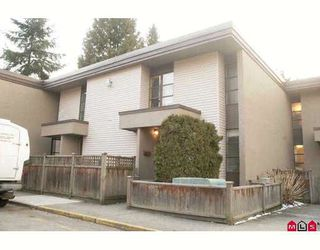 "Photo 1: 82 13766 103RD Avenue in Surrey: Whalley Townhouse for sale in ""THE MEADOWS"" (North Surrey)  : MLS®# F2904642"