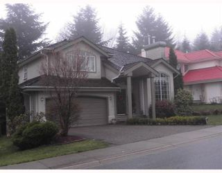 Photo 1: 1556 TANGLEWOOD Lane in Coquitlam: Westwood Plateau House for sale : MLS®# V761380
