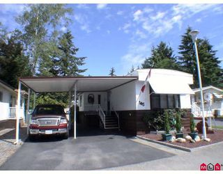 "Photo 1: 145 3665 244 Street in Langley: Otter District Manufactured Home for sale in ""Langley Grove Estates"" : MLS®# F2916375"
