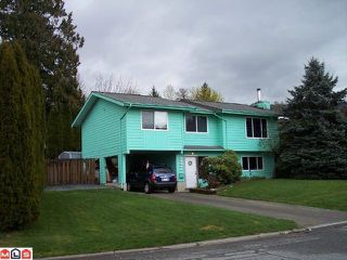 Photo 1: 35331 PURCELL Avenue in Abbotsford: Abbotsford East House for sale : MLS®# F1008390
