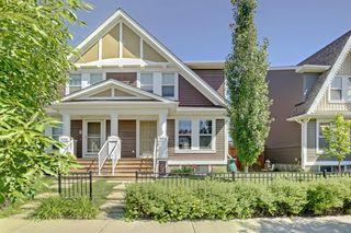 Main Photo: 504 AUBURN BAY Avenue SE in Calgary: Auburn Bay Semi Detached for sale : MLS®# A1019778
