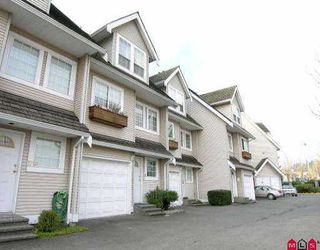 "Photo 1: 16 19948 WILLOUGHBY WY in Langley: Willoughby Heights Townhouse for sale in ""Cranbrook Court LMS1471"" : MLS®# F2524925"