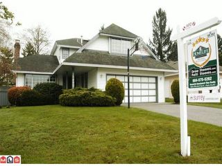 "Photo 1: 15490 92A Avenue in Surrey: Fleetwood Tynehead House for sale in ""BERKSHIRE PARK"" : MLS®# F1008513"