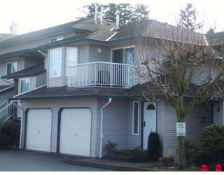 "Photo 1: 63 34332 MACLURE Road in Abbotsford: Central Abbotsford Townhouse for sale in ""IMMEL RIDGE"" : MLS®# F2903488"