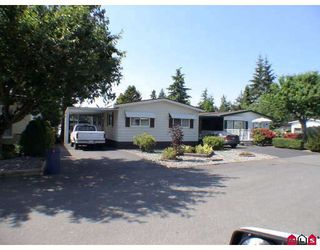 "Photo 1: 214 3665 244TH Street in Langley: Otter District Manufactured Home for sale in ""LANGLEY GROVE ESTATES"" : MLS®# F2912879"