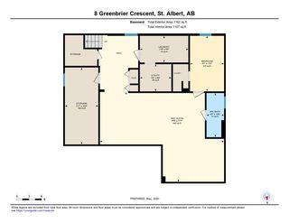 Photo 35: 8 GREENBRIER Crescent: St. Albert House for sale : MLS®# E4195805